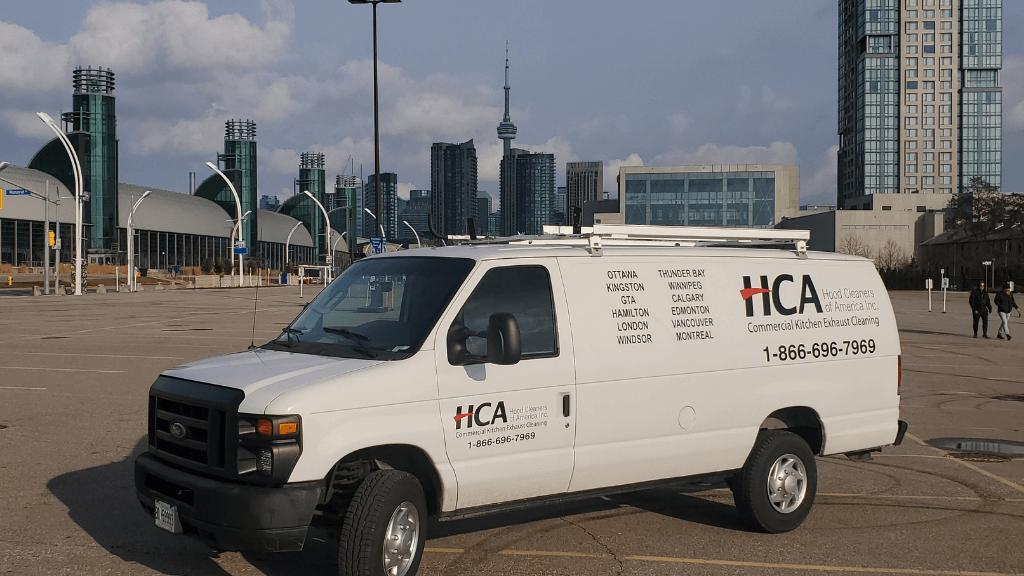 HCA SERVICE VAN